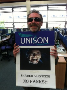 Shared Services? No Fanks!